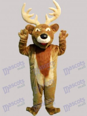Christmas Elk Deer Mascot Costume Animal
