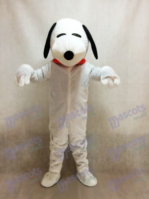 Snoopy Dog with Red Collar Mascot Costume