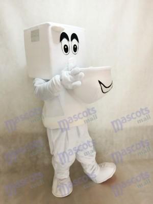 Running Toilet Closestool Mascot Costume