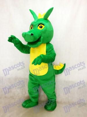 Cute Green Dragon Mascot Costume Animal