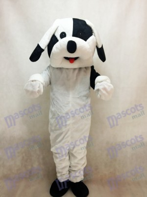 Black and White Dog Mascot Adult Costume Animal