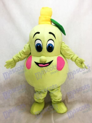 Fresh Pear Mascot Costume Fruit