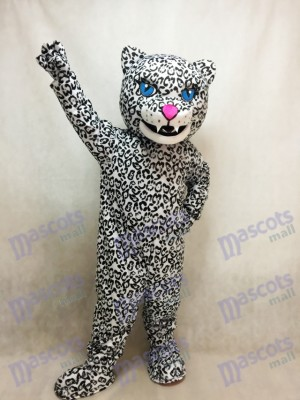 Adult Energetic Jaguar Mascot Costume