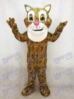 New Cute Friendly Jaguar Mascot Costume