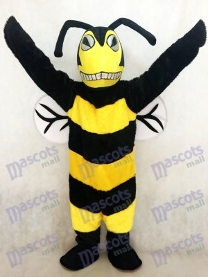 New Black and Yellow Adult Bee/Hornet Mascot Costume