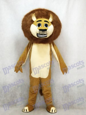 Lion in Madagascar Mascot Costume Cartoon Animal
