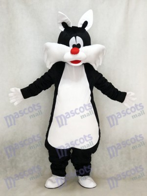 Black Cat Mascot Costume Animal