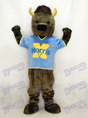Sport Bison Buffalo Mascot Costume