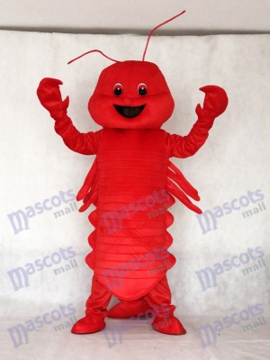 New Red Lobster Mascot Costume Ocean