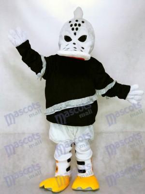 Fierce Wild Wing Duck Mascot Costume Ice Hockey Player Animal