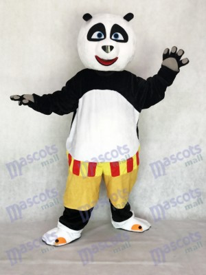 Kung Fu Panda Po Mascot Adult Costume Cartoon Anime