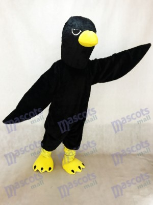 Cute Raven Crow Mascot Costume