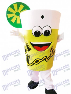Yummy Lemonade Mascot Costume Drink Bottle