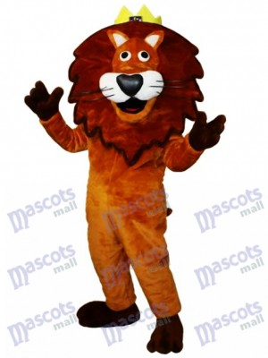 Lion Mascot Adult Costume Animal