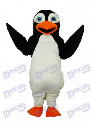 Black Penguin Mascot Adult Costume