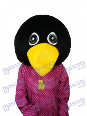 Crying Penguin Head Mascot Adult Costume Ocean