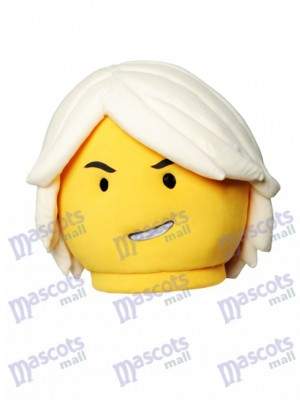 Ninja Lego Mascot HEAD ONLY