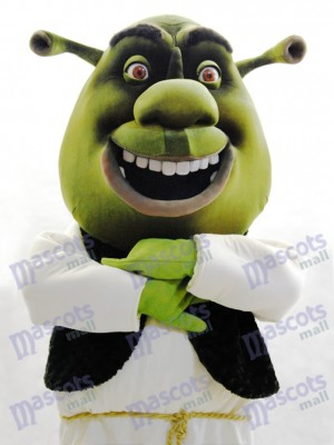 Shrek Ogre Mascot Adult Costume Cartoon Anime