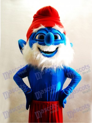 Papa Dwarf Mascot Adult Costume Cartoon Anime