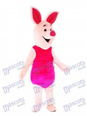Pink Pig Piglet Mascot Costume Animal