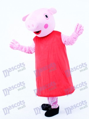 Pink Piggy Pig Piglet Mascot Costume Animal