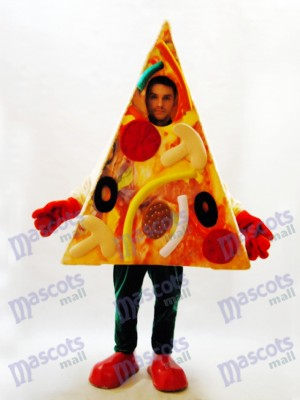 Pizza Slice Mascot Costume Food