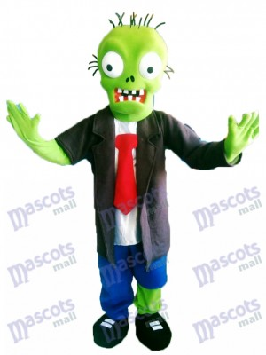 Zombie Plants vs Zombies Mascot Costume Cartoon Character