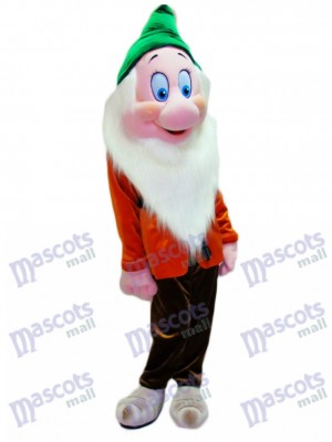 Bashful Shy Dwarf Mascot Costume Cartoon Anime