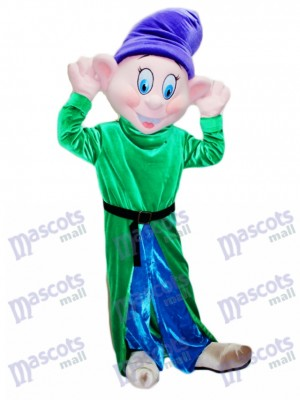 Dopey Silly Dwarf Mascot Costume Cartoon Anime