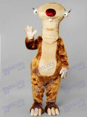 Sloth Mascot Costume Animal