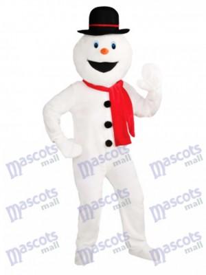 Snowman Mascot Costume Christmas Xmas
