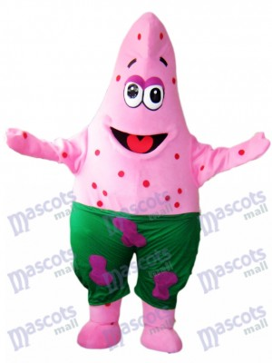 Spongebob Patrick Pink Starfish Mascot Costume Animal Cartoon