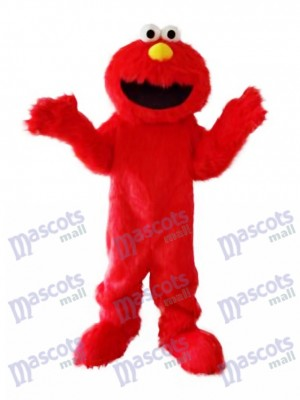 Super Sesame Street Cute Red Elmo Monster Mascot Costume Cartoon Anime