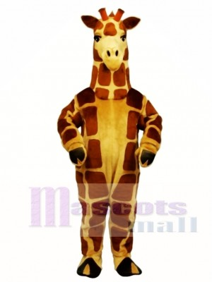 Cute Realistic Giraffe Mascot Costume Animal