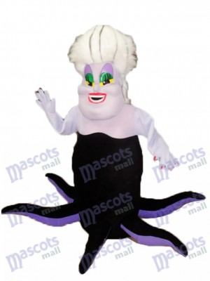Sea Witch Ursula from The Little Mermaid Mascot Costume Cartoon