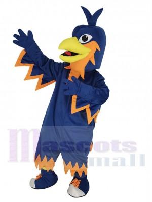 Dark Blue Phoenix Mascot Costume Animal
