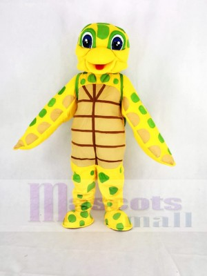 Cute Sea Turtle Mascot Costume Cartoon