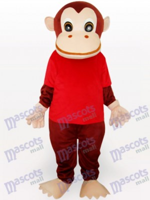 Red Gorilla Animal Mascot Funny Costume
