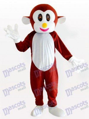 Bouncing Monkey Brown Animal Mascot Costume
