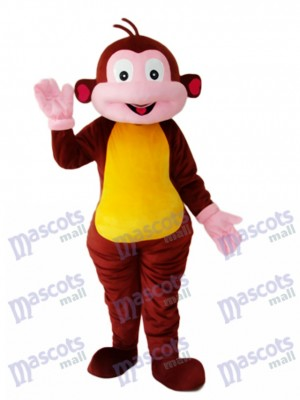 Boots Monkey Mascot Adult Costume Animal