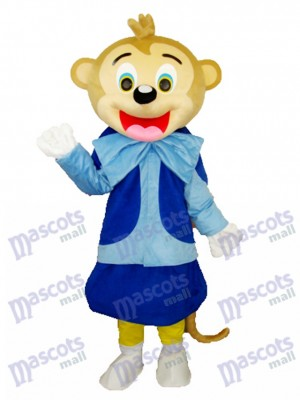Smart Monkey Adult Mascot Costume Animal