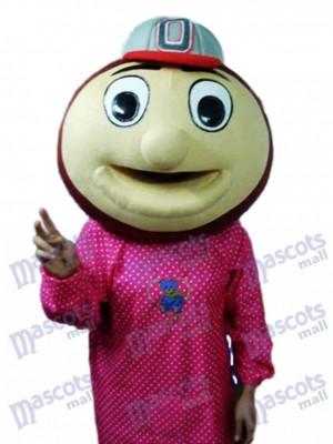 Baseball Monkey Head Mascot Adult Costume Animal