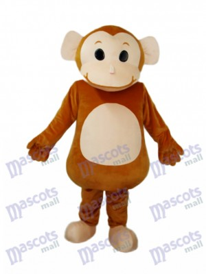 Big Head Monkey Mascot Adult Costume Animal