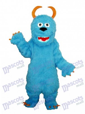Blue Sulley Monsters Inc Mascot Adult Costume Cartoon Anime