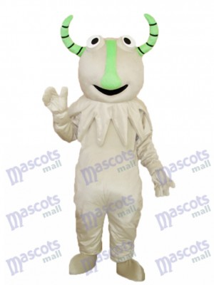 Gray Monster Mascot Adult Costume Cartoon Anime