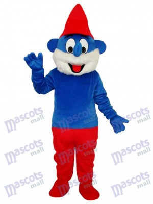 Furry Smurfs Mascot Adult Costume Cartoon Anime