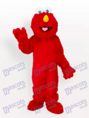 Red Fur Man Anime Adult Mascot Funny Costume