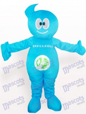 Cleaner Doll Party Adult Mascot Costume
