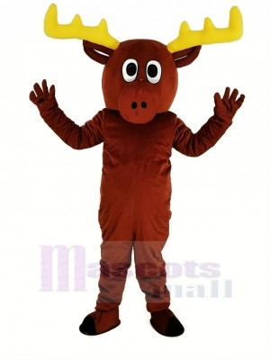 Cute Reindeer Mascot Costume Animal