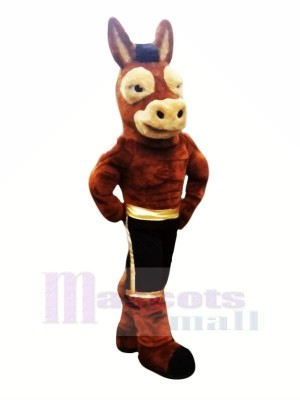 Power Mule Mascot Costumes Cartoon